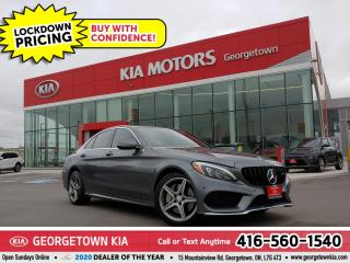 Used 2017 Mercedes-Benz C-Class C 300 4MATIC | AMG PACKGE | NAV| PANO ROOF| BU CAM for sale in Georgetown, ON