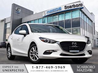 Used 2018 Mazda MAZDA3 Sport GS HATCHBACK SUNROOF AUTO 1 OWNER CLEAN CARFAX for sale in Scarborough, ON