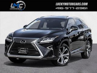 Used 2017 Lexus RX 350 LUXURY-AWD-SUNROOF-NAVI-CAMERA-FACTORY WARRANTY-70KMS for sale in Toronto, ON