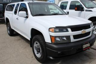 Used 2011 Chevrolet Colorado LT 4WD Ext Cab LEER Matching cab for sale in Mississauga, ON