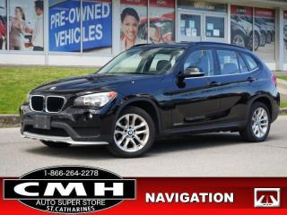 Used 2015 BMW X1 xDrive28i  NAV PARK-SENS ROOF LEATH HTD-S/W 17-AL for sale in St. Catharines, ON