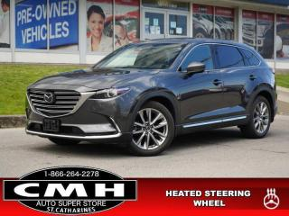 Used 2017 Mazda CX-9 GT  NAV HUD ADAP-CC ROOF LEATH HTD-S/W 20-AL for sale in St. Catharines, ON
