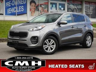 Used 2018 Kia Sportage LX  CAM BLUETOOTH HTD-SEATS 17-AL for sale in St. Catharines, ON