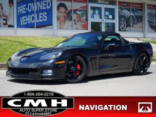 Used 2012 Chevrolet Corvette Grand Sport  6.2L NAV SUEDE HTD-SEATS for sale in St. Catharines, ON