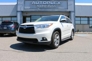 Used 2014 Toyota Highlander Limited AWD V6 for sale in Calgary, AB