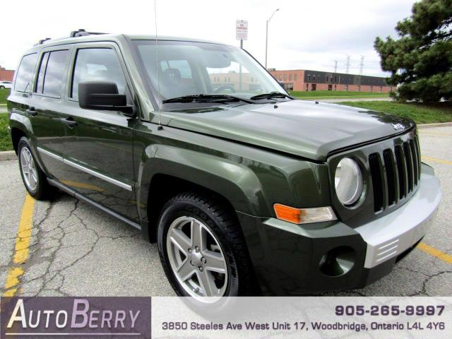 2008 Jeep Patriot Limited 2WD One Owner Accident Free!