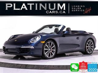 Used 2012 Porsche 911 Carrera S,CONVERTIBLE,400HP,PREM PLUS,PDK,NAV,BOSE for sale in Toronto, ON