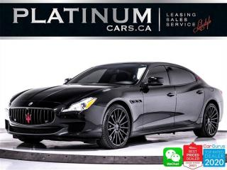 Used 2014 Maserati Quattroporte S Q4, 3.0L 404HP, AWD,NAV,CAM,HEATED/COOLED SEATS for sale in Toronto, ON