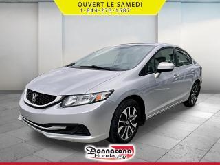 Used 2015 Honda Civic EX *GARANTIE 10 ANS / 200 000 KM* for sale in Donnacona, QC
