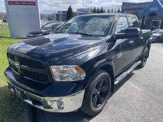 Used 2014 RAM 1500 Outdoorsman/BLACK EDITION/CREW for sale in Sherbrooke, QC
