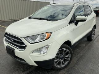 Used 2020 Ford EcoSport Titanium AWD for sale in Cayuga, ON