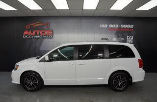 Used 2019 Dodge Grand Caravan GT 3.6L MAGS SIÈGES CUIR + CAMERA BLUETOOTH 61 165 for sale in Lévis, QC