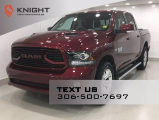 Used 2018 RAM 1500 Sport Crew Cab | Leather | Sunroof | RamBox | Navigation | for sale in Regina, SK