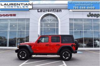 Used 2018 Jeep Wrangler Unlimited Rubicon - 4WD !! HEATED SEATS !! HEATED WHEEL !! for sale in Sudbury, ON