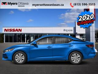 New 2020 Nissan Sentra SV CVT  - Heated Seats -  Android Auto for sale in Ottawa, ON