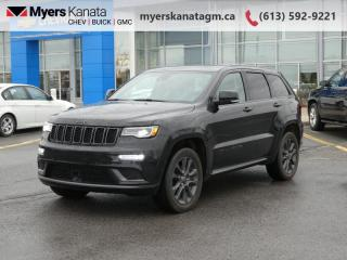 Used 2018 Jeep Grand Cherokee High Altitude II  - Navigation for sale in Kanata, ON