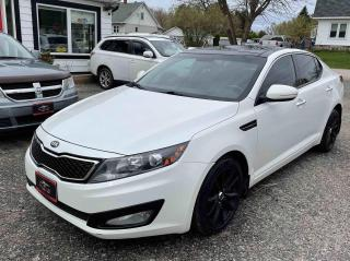 Used 2013 Kia Optima EX Turbo for sale in Tiny, ON