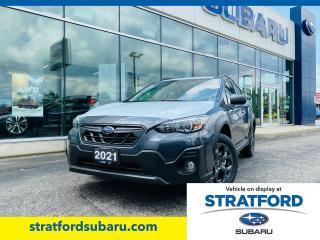 New 2021 Subaru XV Crosstrek Outdoor w/ Eyesight for sale in Stratford, ON