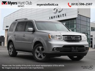 Used 2013 Honda Pilot EX-L  - Sunroof -  Leather Seats for sale in Ottawa, ON