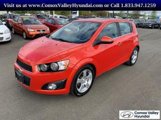 Used 2012 Chevrolet Sonic LT 5 Dr Hatchback for sale in Courtenay, BC