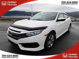 New 2018 Honda Civic SEDAN LX for sale in Corner Brook, NL