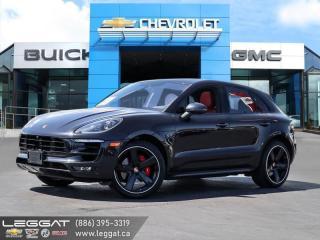 Used 2016 Porsche Macan Turbo PREM PACK | SPORT CHRONO | $125K BUILD! for sale in Burlington, ON