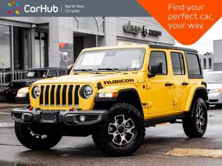 New 2021 Jeep Wrangler Unlimited Rubicon 4x4 Dual Top Advanced Safety Leather Seats for sale in Thornhill, ON