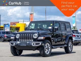 New 2021 Jeep Wrangler Unlimited Sahara 4x4 Hard Top Bluetooth Backup Camera Apple Car play Push Start 18