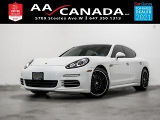 Used 2016 Porsche Panamera LOW KM | RED INTERIOR | for sale in North York, ON