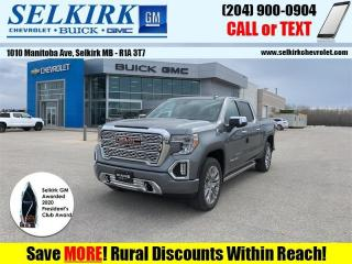 New 2021 GMC Sierra 1500 Denali  - Power Sunroof for sale in Selkirk, MB