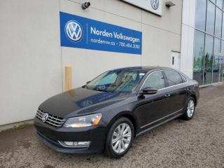 Used 2012 Volkswagen Passat 2.5L HIGHLINE AUTO - LEATHER / SUNROOF for sale in Edmonton, AB