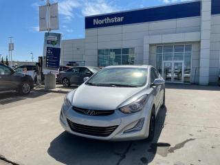 Used 2014 Hyundai Elantra LTD NAV/LEATHER/SUNROOF/HEATEDSEATS/BACKUPCAM/2SETS for sale in Edmonton, AB