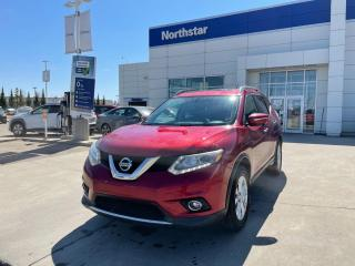 Used 2015 Nissan Rogue SL AWD/LEATHER/SUNROOF/NAV/HETAEDSEATS for sale in Edmonton, AB
