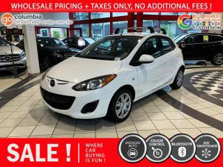 Used 2014 Mazda MAZDA2 GX - Accident Free / Local / No Dealer Fees for sale in Richmond, BC