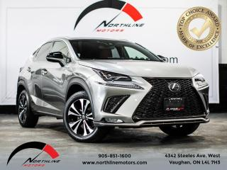 Used 2018 Lexus NX NX300 F-Sport/Navigation/Blindspot/Red Leather for sale in Vaughan, ON