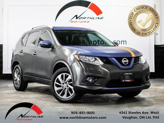 2014 Nissan Rogue SV AWD/Panoramic Sunroof/Push Button Start/Leather