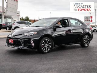 Used 2017 Toyota Corolla SE for sale in Ancaster, ON