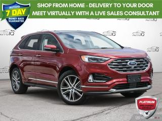 Used 2019 Ford Edge Titanium | Navigation | Leather | Awd for sale in Oakville, ON