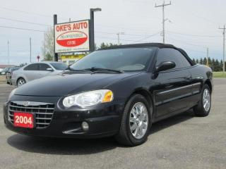 Used 2004 Chrysler Sebring Limited Convertible for sale in Alvinston, ON