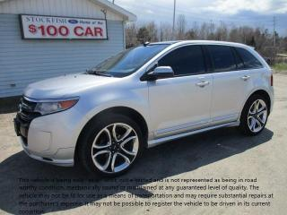Used 2011 Ford Edge SPORT for sale in North Bay, ON