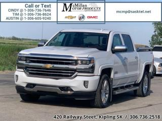 Used 2016 Chevrolet Silverado 1500 High Country   4X4,CREW CAB,TRAILER PACKAGE,LEATHE for sale in Kipling, SK