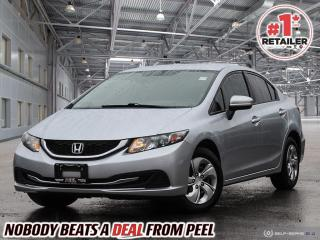 Used 2015 Honda Civic LX for sale in Mississauga, ON