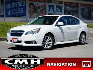 Used 2014 Subaru Legacy 2.5i Limited  NAV CAM ROOF LEATH 17-AL for sale in St. Catharines, ON