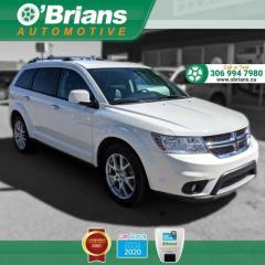 Used 2016 Dodge Journey R/T w/AWD, DVD, Leather, 7-Seater, Navigation, Heated Seats for sale in Saskatoon, SK