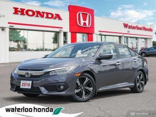 Used 2018 Honda Civic Sedan Touring for sale in Waterloo, ON
