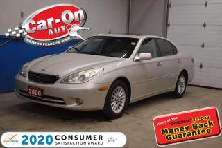 Used 2006 Lexus ES 330 HEATED/COOLED SEATS   MEMORY SYSTEM   LEATHER for sale in Ottawa, ON