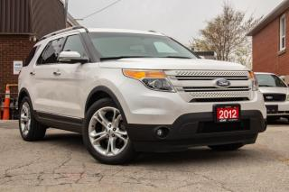 Used 2012 Ford Explorer LIMITED for sale in Scarborough, ON