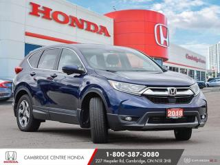 Used 2018 Honda CR-V EX-L SATELLITE RADIO EQUIPPED | APPLE CARPLAY™ & ANDROID AUTO™ | POWER SUNROOF for sale in Cambridge, ON