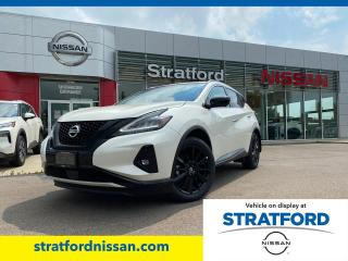 New 2021 Nissan Murano Midnight Edition for sale in Stratford, ON