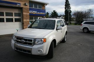 Used 2010 Ford Escape Limited for sale in Nepean, ON
